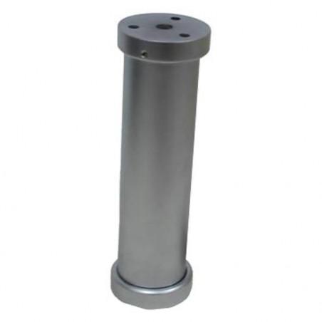 Console de bar droite chromé mat